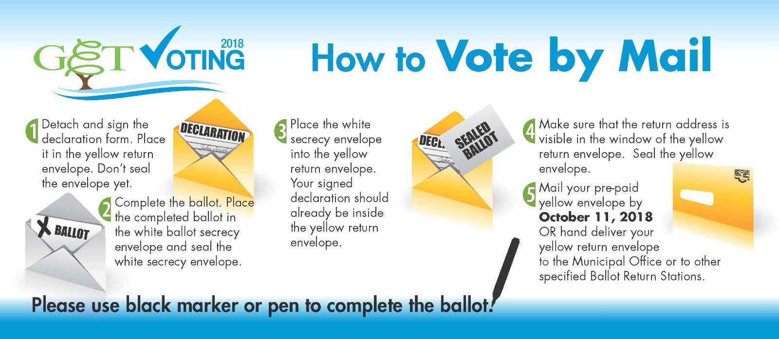 Get Mail Voting Landscape 2018