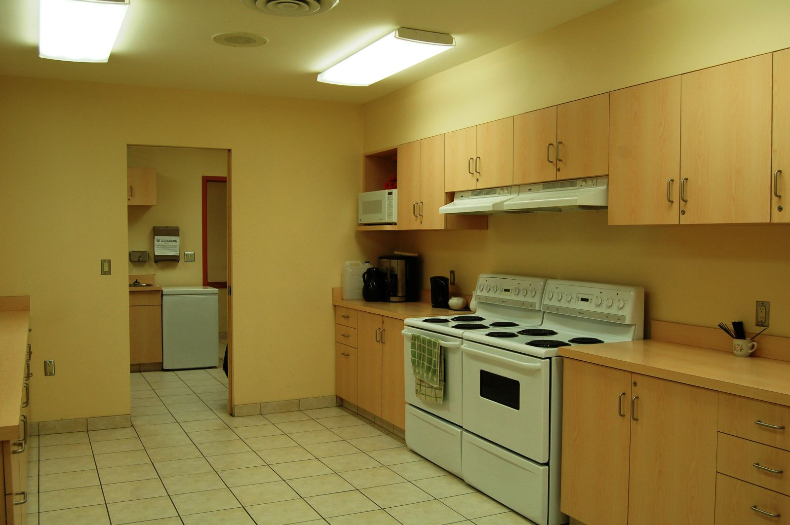Photo of the kitchen at Marden Community Centre