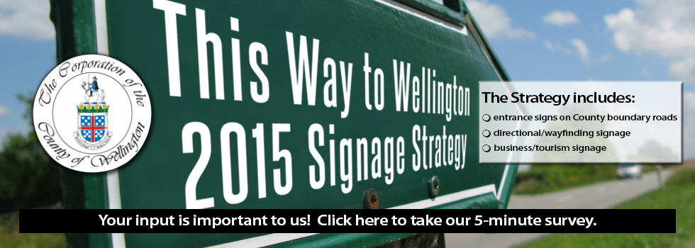 Wellington Signage Plan icon