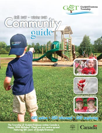 Image of the cover of the Fall and Winter Community Guide